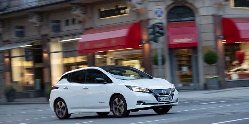 Nissan Leaf - Akku überlebt Fahrzeug
