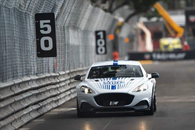 Aston Martin Rapide E Gibt Sein Debüt Auf Den Straßen Von Monaco Elektroauto News Net