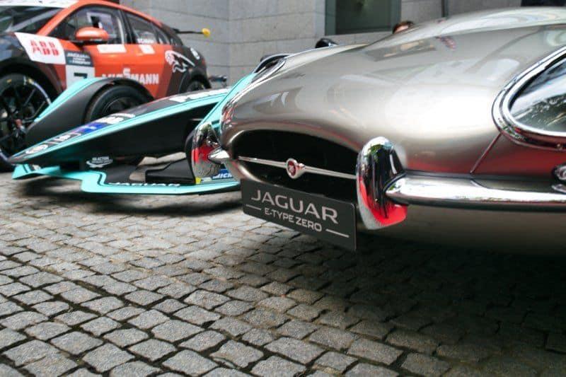 Jaguar Panasonic Racing in der Britischen Botschaft