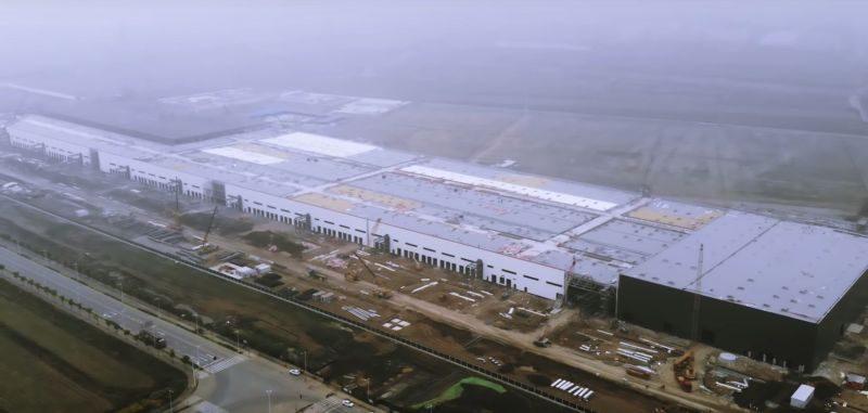 Tesla Gigafactory 3 nährt sich der Fertigstellung