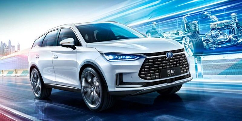 BYD Tang 600 als E-SUV