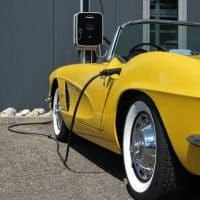 62er Corvette umgebaut vom Verbrenner zum Elektroauto