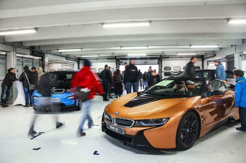 Hybride und E-Autos am Hockenheimring