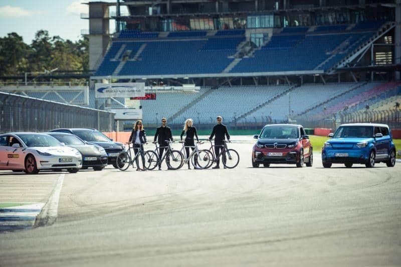 e4 Testival Hockenheimring - elektrifiziert den Verkehr