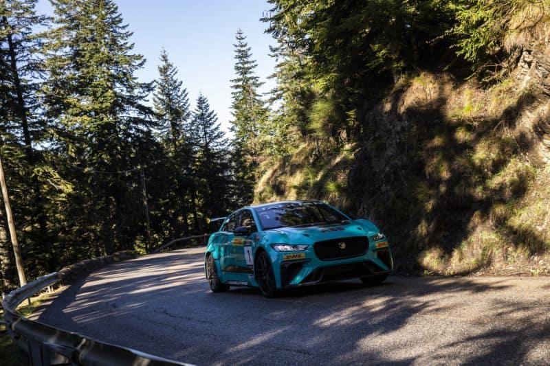 Jaguar I-PACE am legendären Col de Turini