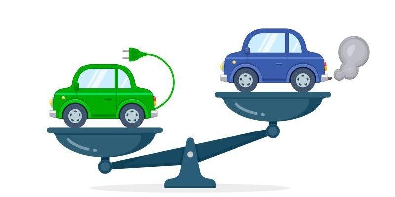 E-Auto zu Verbrenner Vergleich