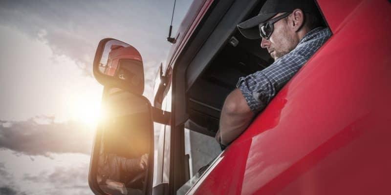 Teststrecke für Hybrid-LKW in Frankfurt geht an den Start