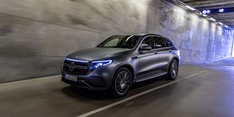 Mercedes-Benz EQC ab Herbst 2019 auf den Markt