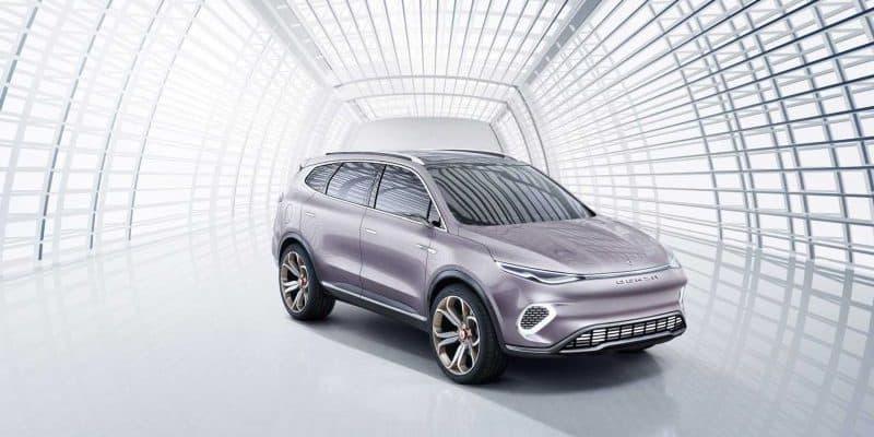 Daimler & BYD präsentieren den Denza Concept X