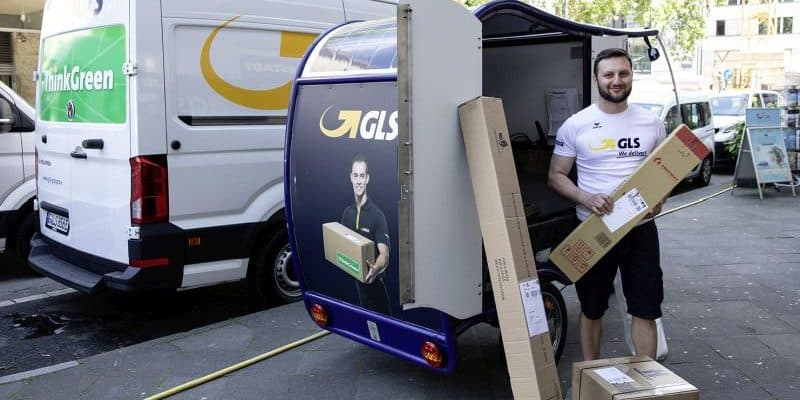 GLS City-Logistik Düsseldorf im Einsatz