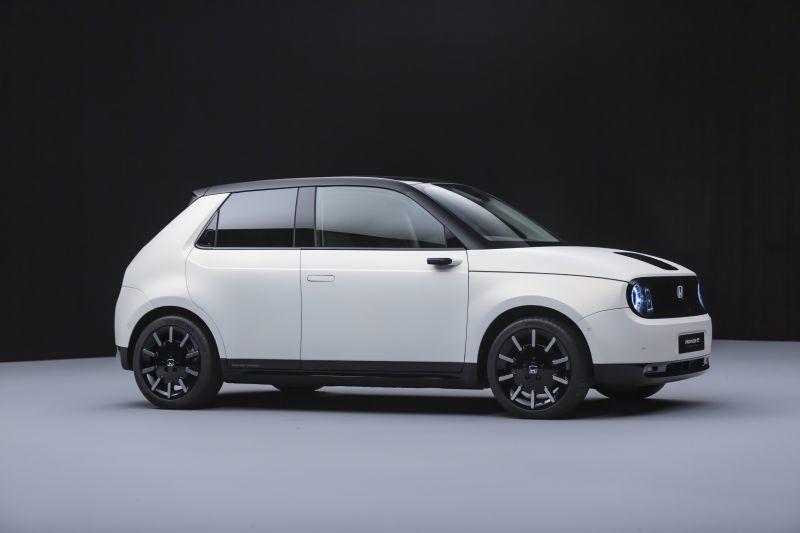 Honda e Prototype Studio Seitenansicht
