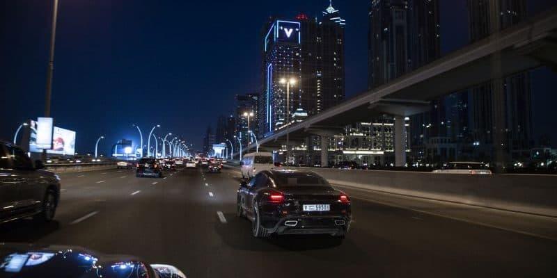 Porsche Taycan in Dubai