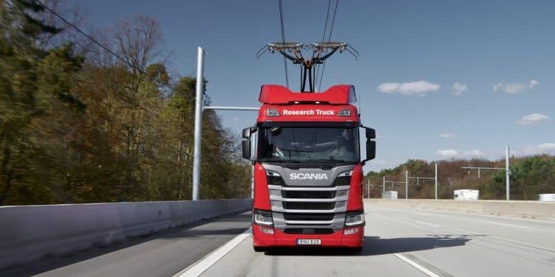 Scania erklärt wie die Elektrifizierung der Straße funktioniert