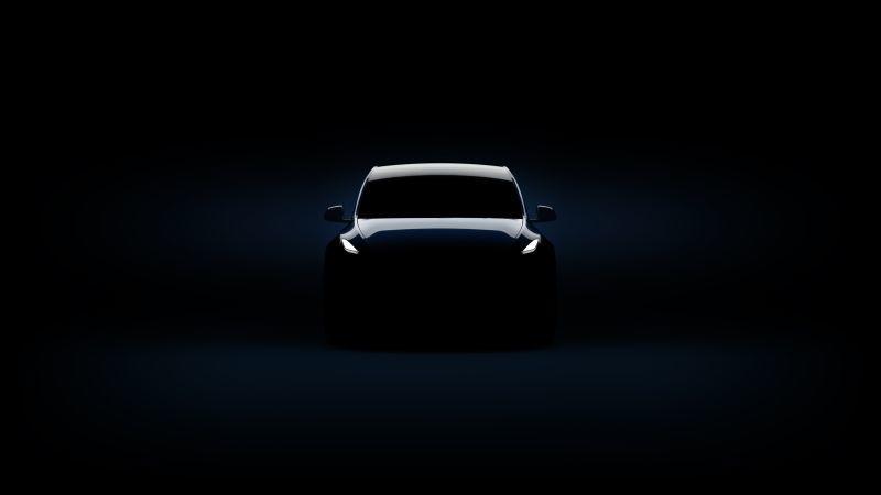 Tesla Model Y Silhouette