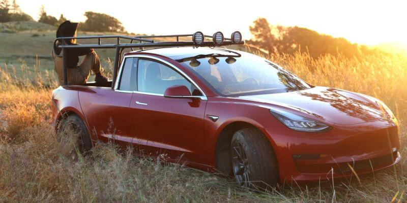 Truckla - Umbau eines Tesla Model 3