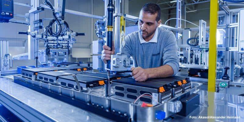 Akasol fährt Produktionskapazität hoch
