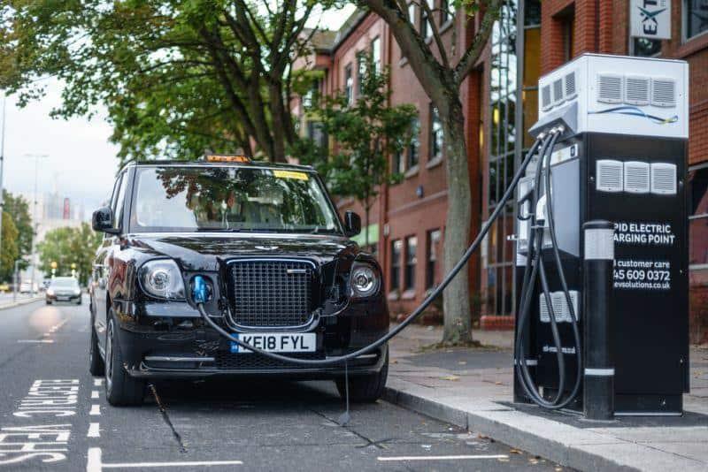 London peilt 50.000 Ladestationen bis 2025 an