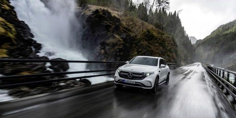 Mercedes-Benz EQC arbeitet mit ZF zusammen