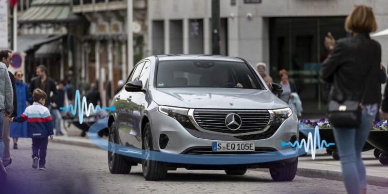 Mercedes-Benz arbeitet am richtigen AVAS-Sound