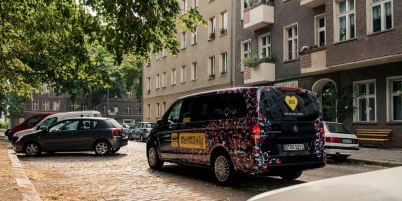 eVito Tourer im Ridesharing-Service BerlKönig, Berlin