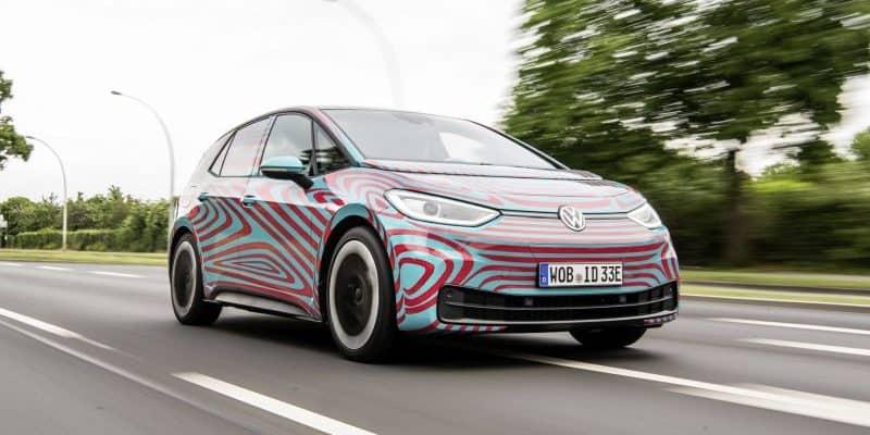 VW ID.3 setzt auf Komponenten und Bauteile der Volkswagen Konzern Komponente