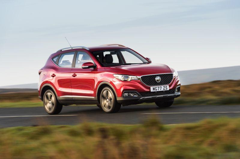 MG ZS EV Familien SUV als Elektroauto