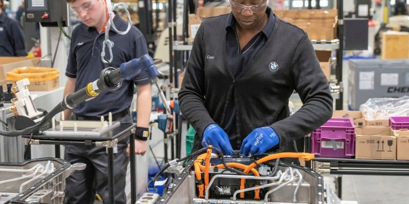 BMW verdoppelt Produktionskapazität in den USA
