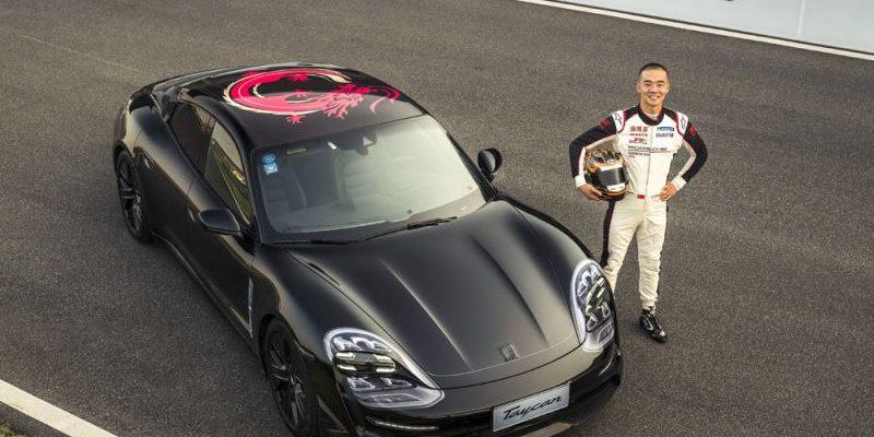Porsche Taycan in China unterwegs