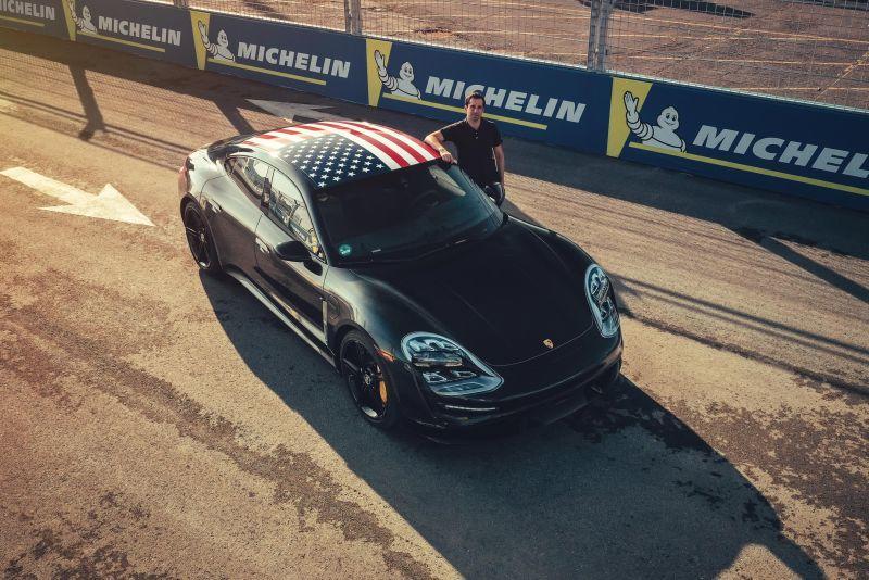 Porsche Taycan zu Gast in New York