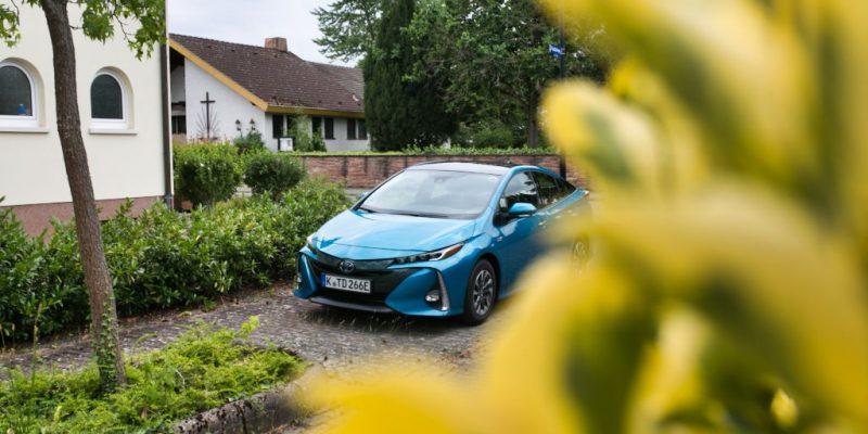 Toyota Prius Plug-In-Hybrid Solar 1,8 Liter - Titelfoto