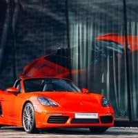 Porsche Boxster als Elektroauto - ein Unikat