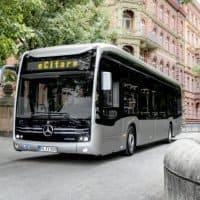Mercedes-Benz eCitaro mit vollelektrischem Antrieb in Hannover