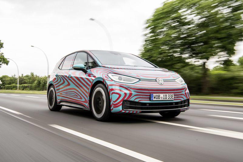 Volkswagen ID.3 volle Fahrt voraus
