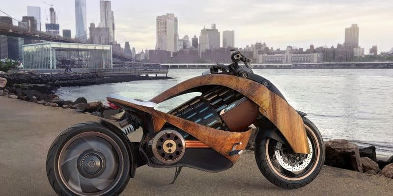Newron EV-1 - E-Motorrad aus Frankreich