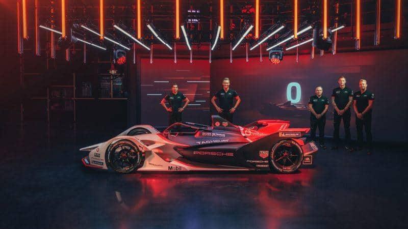 Porsche weiht den Formel E-Renner in Livestream ein