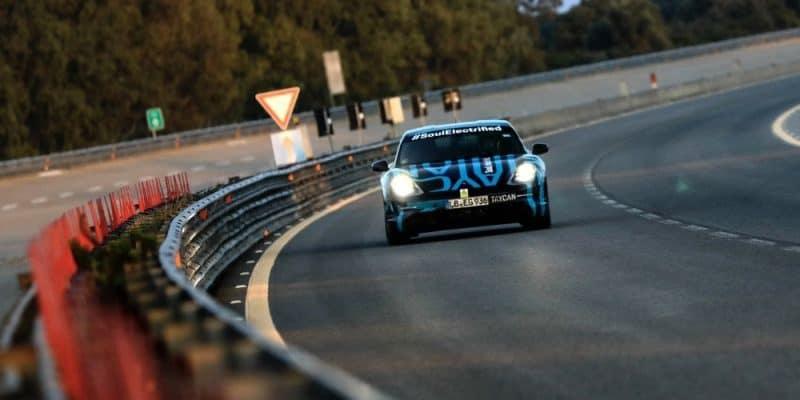 Porsche Taycan stellt sich Ausdauer-Test