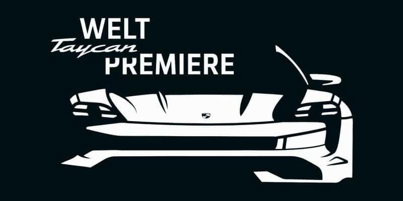 Porsche stellt den Taycan im Livestream vor