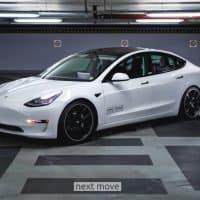 Unter Strom - KW entwickelt für alle Tesla Model 3 Gewindefahrwerke
