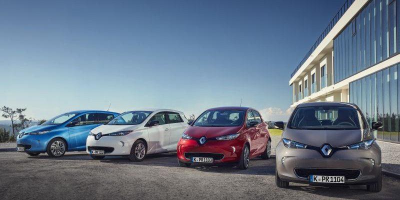 Renault ZOE Absatz steigt weiterhin