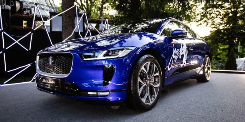 Jaguar I-Pace Akkus kommen in Energiespeichersystemen zum Einsatz