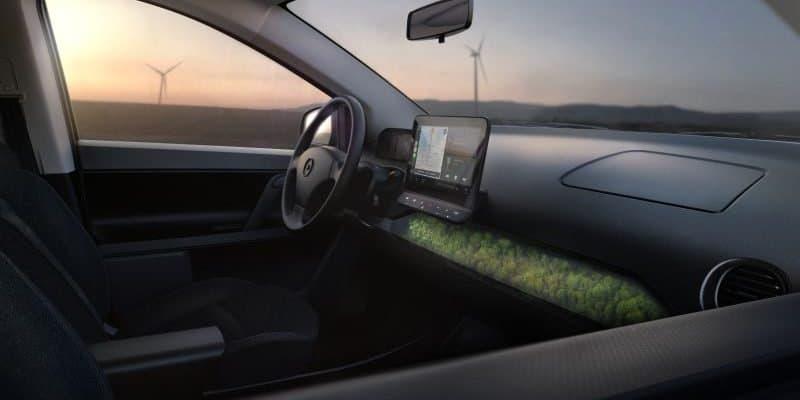 Sono Motors lässt in den Inneraum des SION blicken