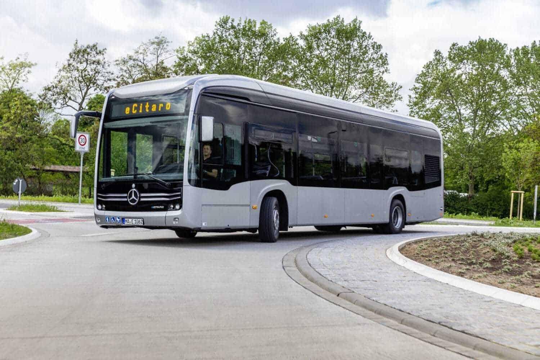 Mercedes-Benz eCitaro künftig mit Range-Extender