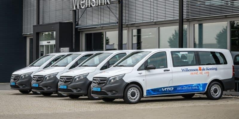 Großauftrag: 80 eVito Tourer für Flottenbetreiber aus den Niederlande