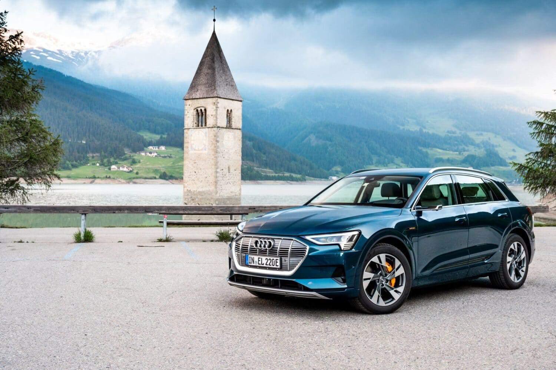 1600 km Testfahrt mit dem Audi e-tron
