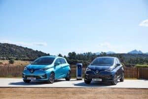 Renault ZOE wartet mit neuem Design auf
