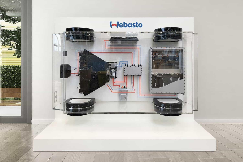 Webasto stellt Standard-Batteriesystem für Nutzfahrzeuge vor