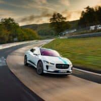 Jaguar I-PACE eTAXI Nürburgring