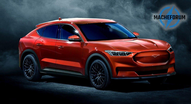 Mach E Forum zeigt Renderings des ersten E-Autos von Ford