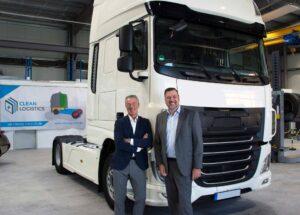 Clean Logistics rüstet schwere Diesel-Lkw auf Wasserstoff-Hybrid-Antrieb um