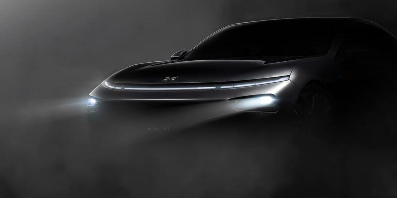 XPENG Motors P7 nimmt Fahrt auf